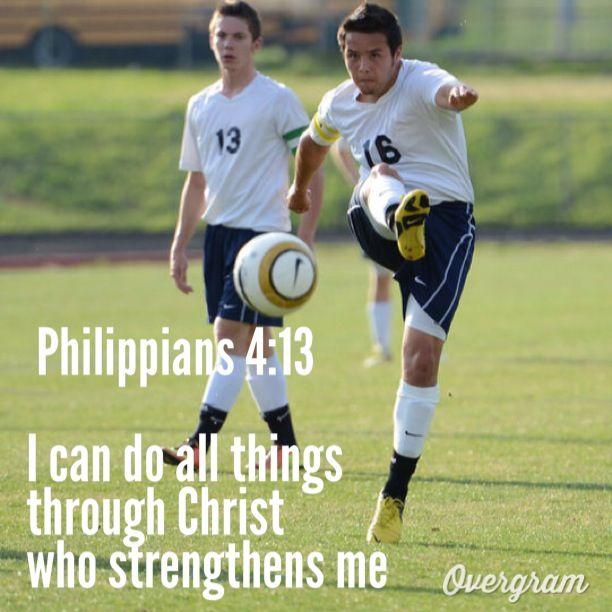 Soccer bible verse