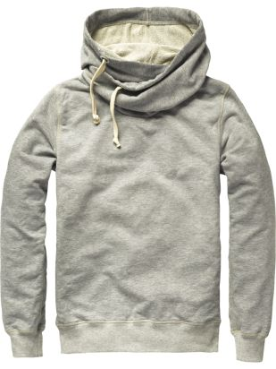 Fancy - Home Alone hooded shawl collar sweater - Men - Scotch & Soda Online Shop. Even I would wear this.
