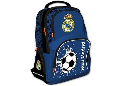 Treal68: real #madrid official fan #backpack - #school bag ,  View more on the LINK: http://www.zeppy.io/product/gb/2/191673460093/