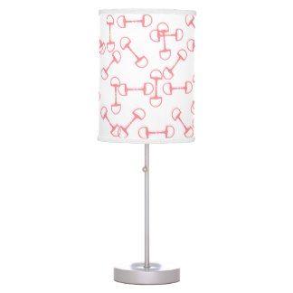 Pink Equestrian Horse Bits Lamps