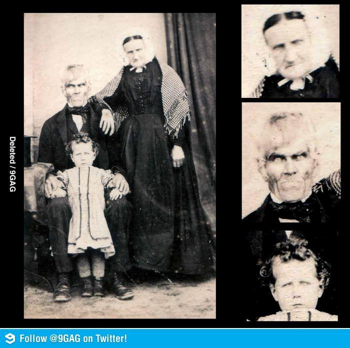 Old, scary family photo. I may not sleep tonight.