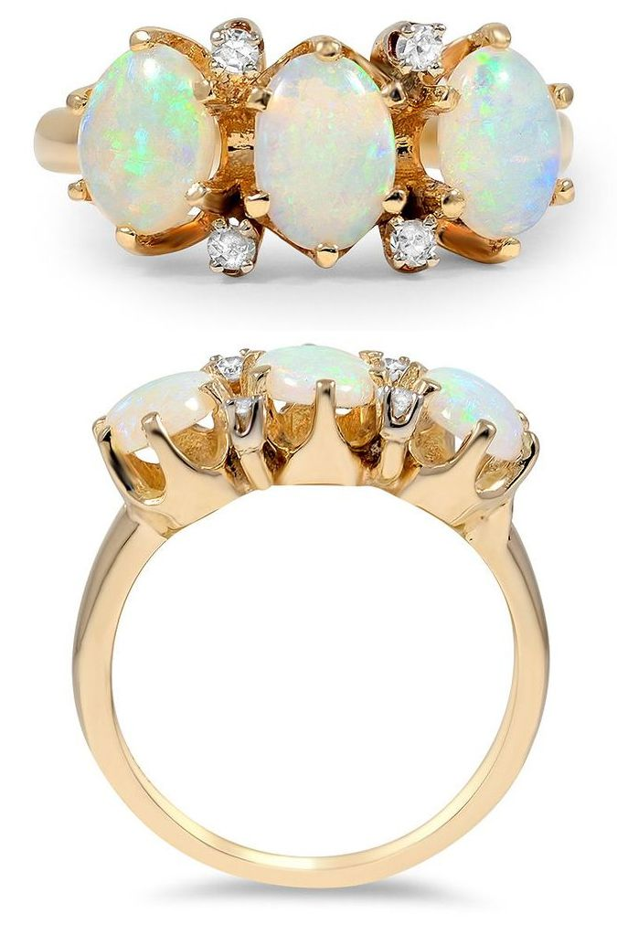 Gold + Opal Ring