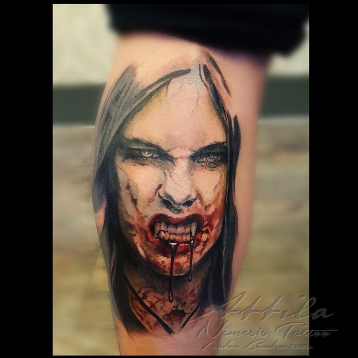1000 ideas about vampire tattoo on pinterest tattoos tattoo ink and irezumi. Black Bedroom Furniture Sets. Home Design Ideas