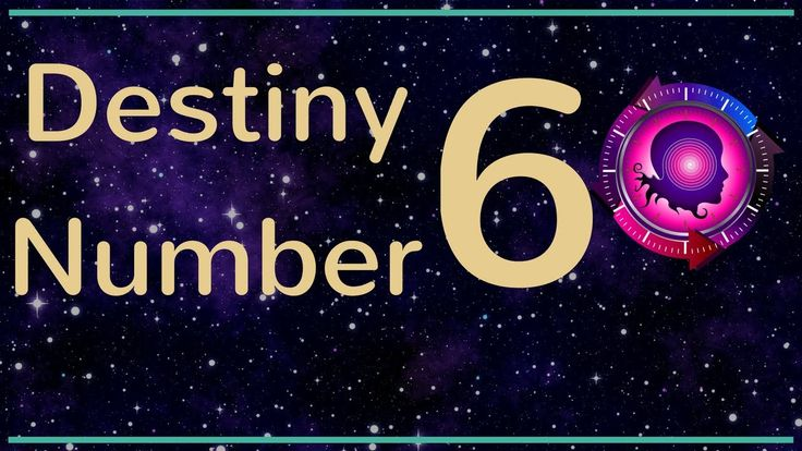 Destiny Number 6: Expression Number 6