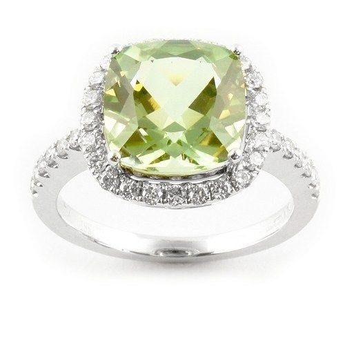 green stone engagement ring #wow #engagement #green