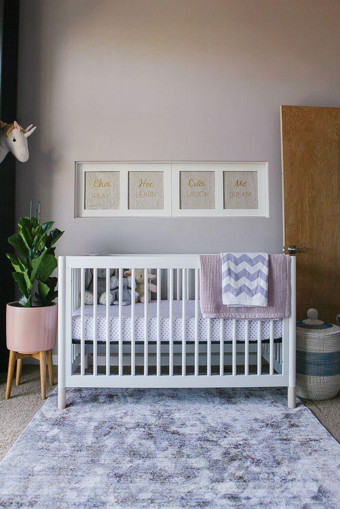 Pink and Blue Modern Nursery 489 best