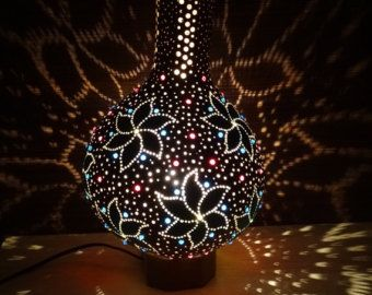 how to make turkish gourd lights - Google Search