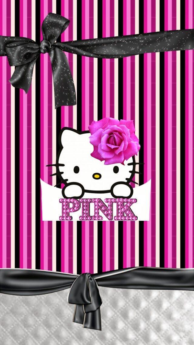 Dazzle my Droid: Pink explosión hello kitty wallpaper collection
