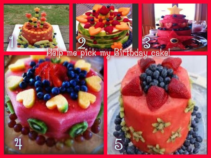12 best Fruit Cake Inspiration images on Pinterest Birthday
