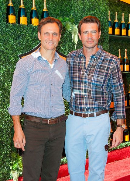 Tony Goldwyn and Scott Foley - Fifth-Annual Veuve Clicquot Polo Classic, Los Angeles
