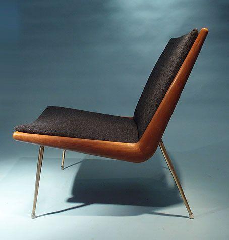 Boomerang Chair by Peter Hvidt & Orla Molgaard Nielsen for France & Daverkosen, 1956 3
