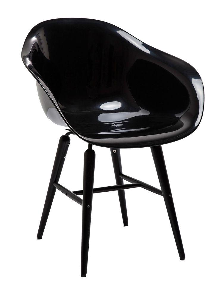 Forum stoel zwart / zwart - Kare Design