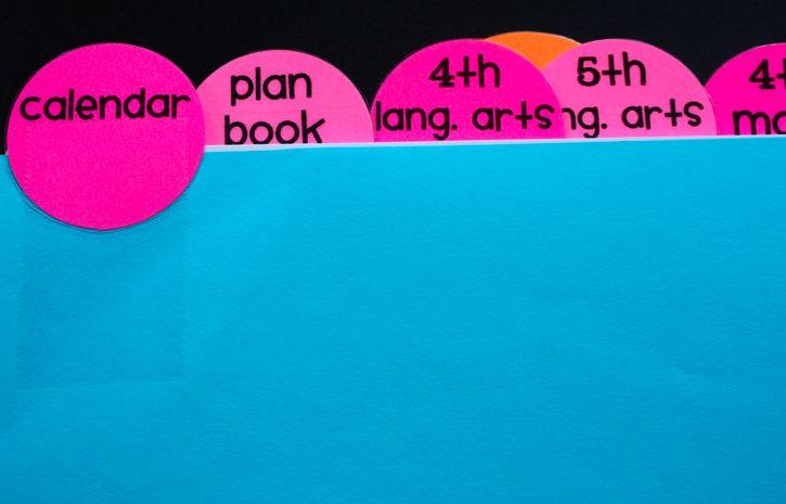 Good post on organizing your teacher binder!   Ladybug's Teacher Files: All-in-One Teacher Binder {printable}