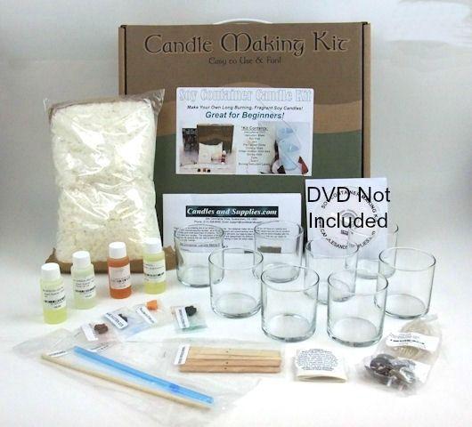 macaron candle making kit instructions