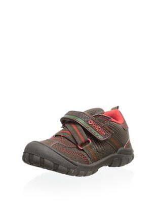 57% OFF OshKosh B'Gosh Kid's Meteor Sneaker (Brown/Red)