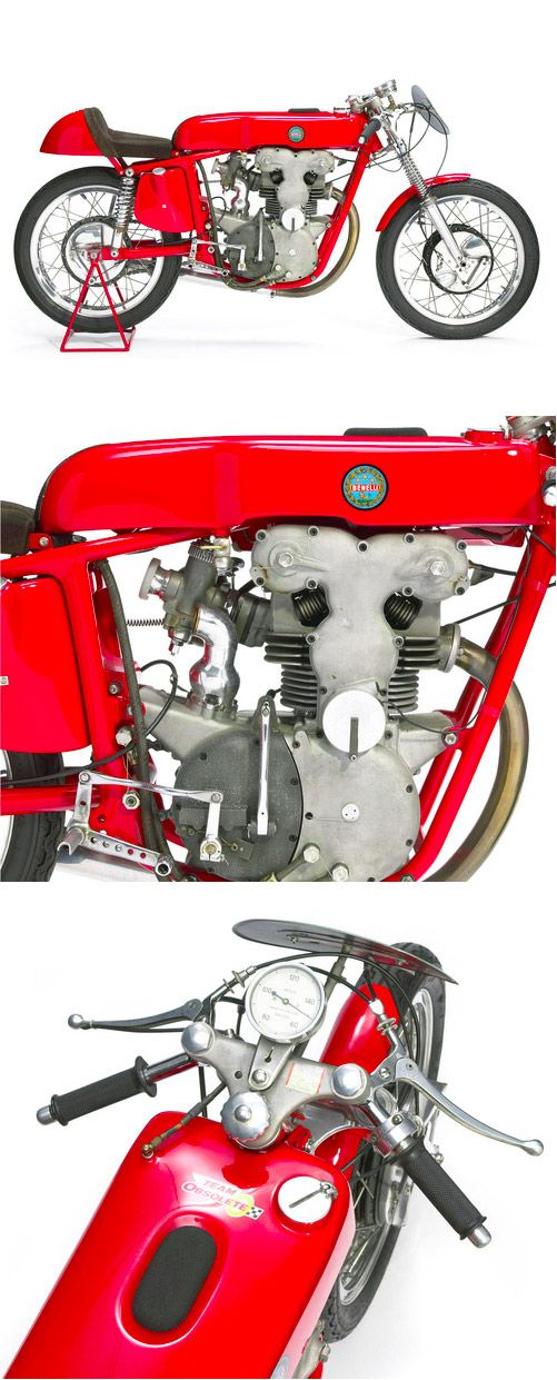 1958 Benelli 248cc Grand Prix Racing Motorcycle