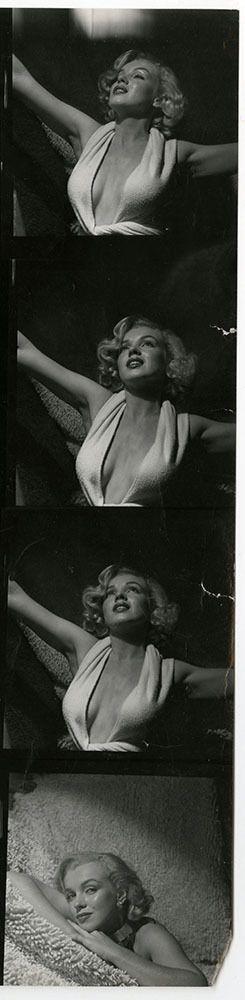 Marilyn Monroe 1951 Vintage Anthony Beauchamp Contact Sheet Photograph 12 Images | eBay