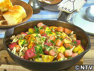 さつま芋をもっと食べよう「さつま芋とソーセージの黒こしょう炒め」のレシピを紹介!