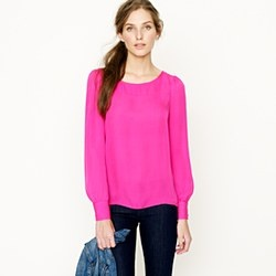 J. Crew Talitha Blouse   I think I just might ask for a card to J. Crew for my birthday...or gap which one which one?