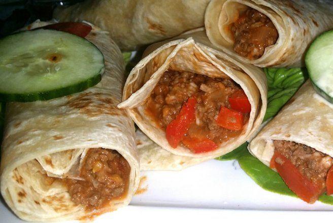 Retete Culinare - Fajitas mexicane