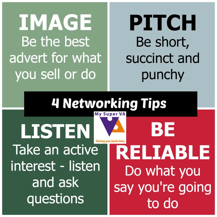 Four Networking Tips   More Tips From Http://www.mysuperva.com. Forever  LivingCareerCarrera