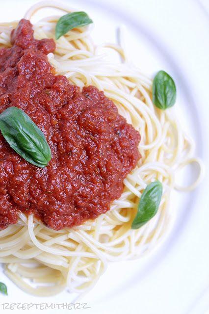 Rezepte mit Herz: weltbeste Tomatensauce ♡