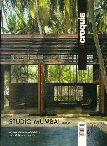 El Croquis 157 Studio Mumbai (English and Spanish Edition) by edited. $92.00. Publisher: El Croquis (December 15, 2011). Publication: December 15, 2011