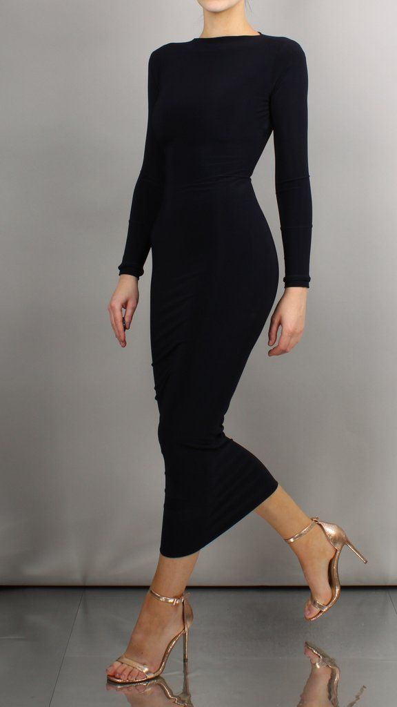 A very sophisticated and elegant bodycon dress that can be dressed up and down.... 3