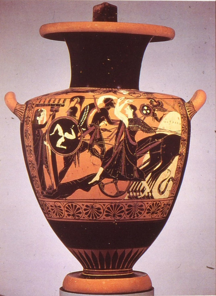 Ancienthistorymjh Achilles Drags Hector S Body Around