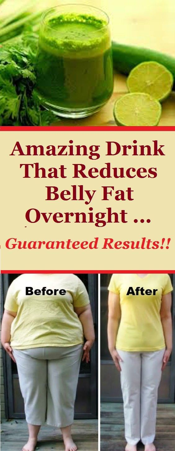 Amazing Drink That Reduces Belly Fat Overnight … Guaranteed Results