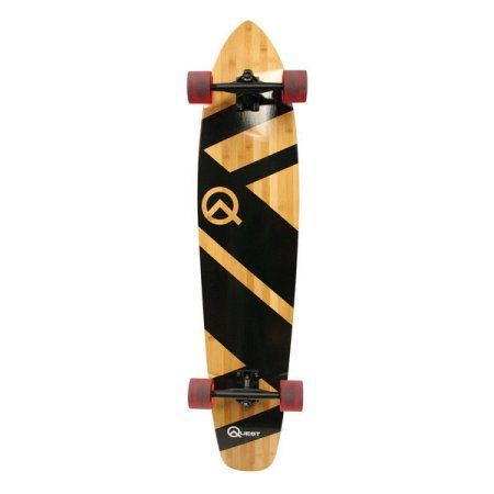 Free Shipping. Buy Quest Super Cruiser Artisan Bamboo Longboard Skateboard (44-Inch) at Walmart.com