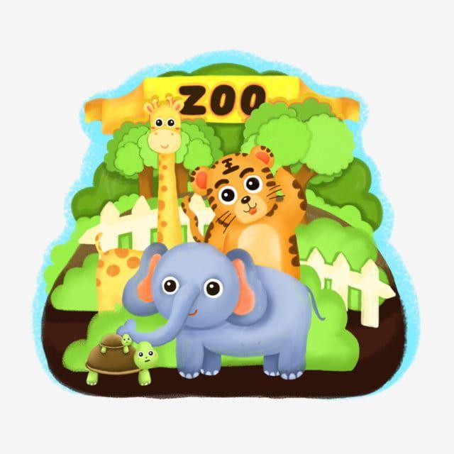 حديقة حيوان السفر لعب الفيل السلحفاة النمر الزرافة أشجار الكرتون حديقة حيوان حيوان لعب Png وملف Psd للتحميل مجانا Forest Cartoon Cartoon Elephant Elephant Background