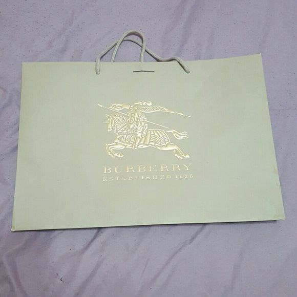 Burberry Accessories - Burberry shopping bag