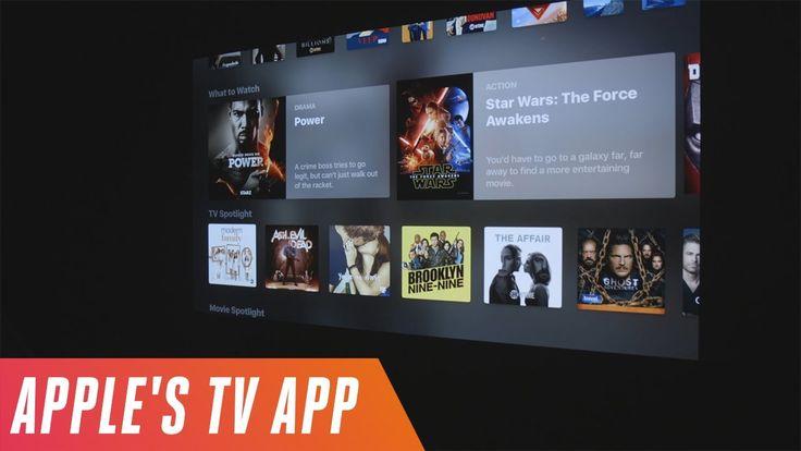 New Apple TV app first look