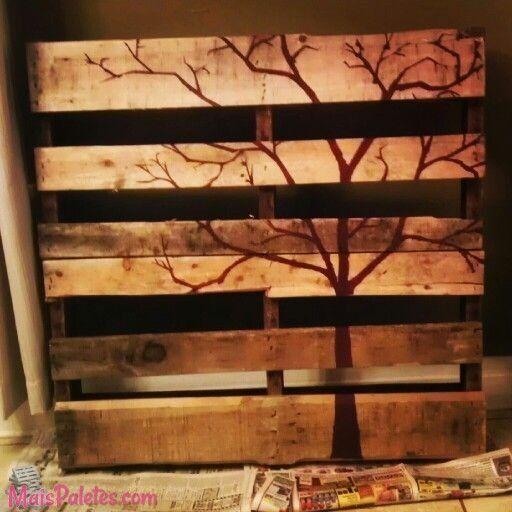 Paletes na decoração da sua casa  http://maispaletes.com  #pallet #palete #recycle #upcycle #decoration