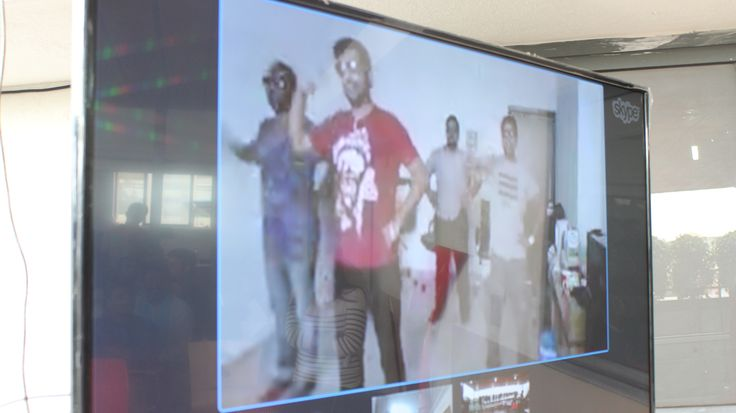 KenscioGotTalent: Mumbai team performing through Skype. #fun #creativity #workculture #dance