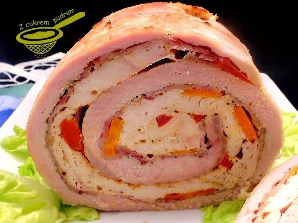 Jest pyszna zarówno na ciepło jak i na zimno, do kanapek. Prawdziwa wyżerka dla mięsożerców :)            około 1,3 kg schabu bez kości  2 d...