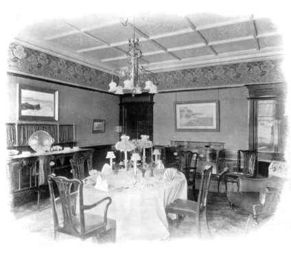 Chippendale Style Edwardian Dining Room