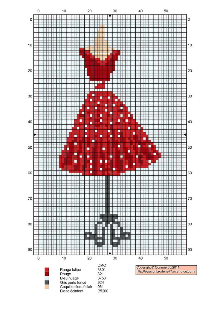 petite robe rouge