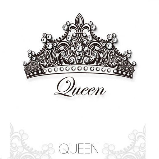 Queen Crown Tattoos | queen crown Swarovski crystal Tattoo stickers ...