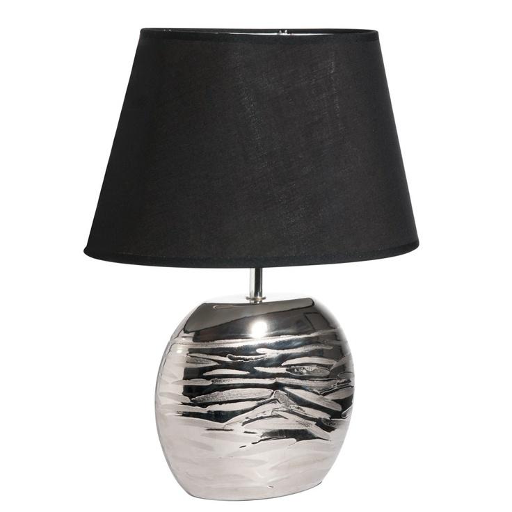 Lampe zèbre silver