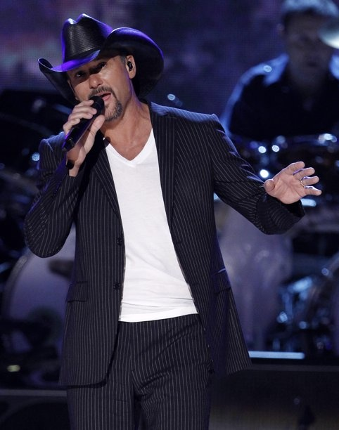 Tim McGraw in concert