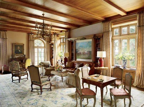 tropical themed living room decor
