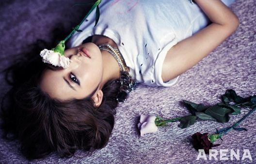 4Minute's Ga Yoon ARENA HOMME+ Korea Magazine March 2013