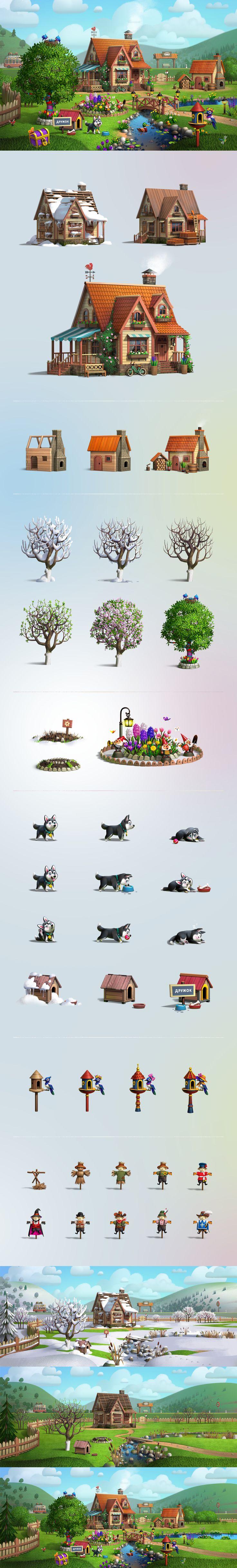 Весенние истории, Иллюстрация © АлексейБазик