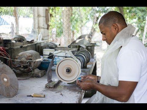 Sabían que el Larimar es la piedra de República Dominicana?