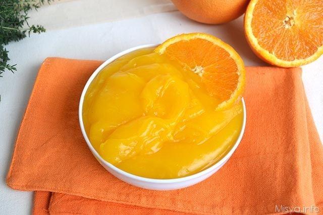 Crema all'arancia senza uova, scopri la ricetta: http://www.misya.info/2015/05/25/crema-allarancia-senza-uova.htm