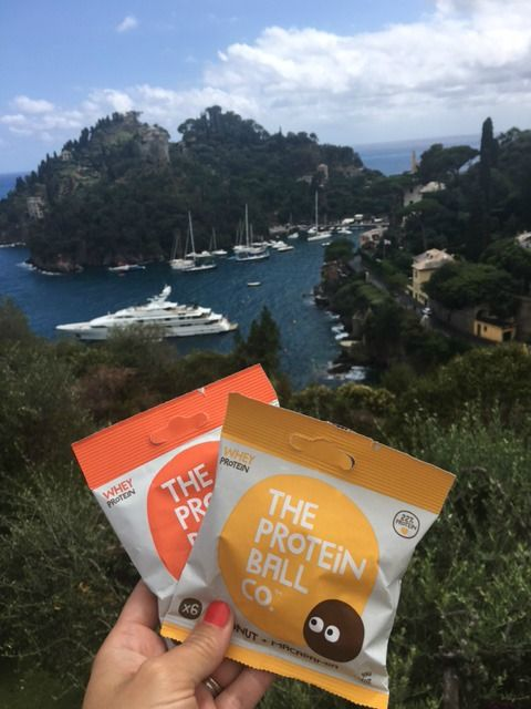 There's nothing better than protein balls + a view like this