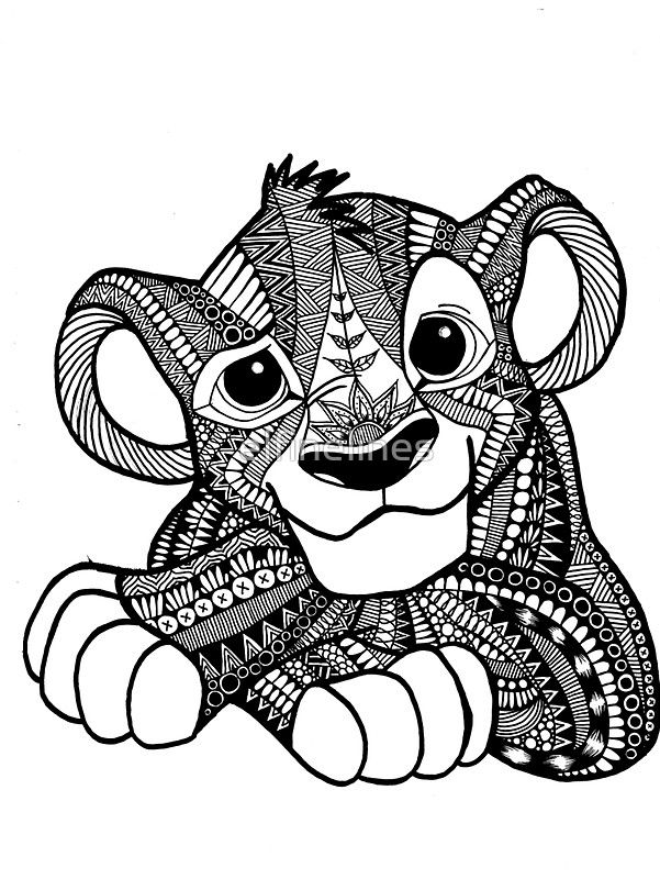 Animals On Pinterest Zentangle Zentangles And Coloring Pages