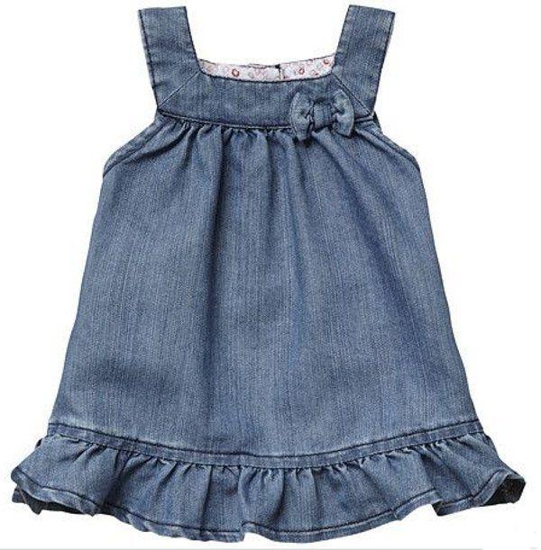 Vestidos baratos bebe jeans
